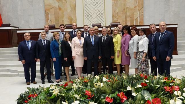 Депутаты  от г.Минска с руководством Палаты представителей 28 июня 2019 года